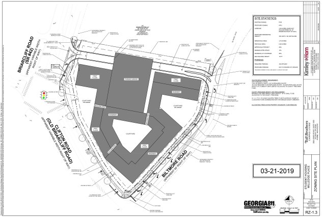 RZ-1 ZONING SITE PLAN